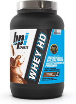 Bpi Sports Whey Hd Ultra Premium Protein Powder, Chocolate Cookie, 1.8 P... - $33.65