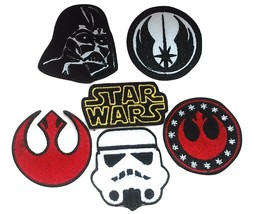 Star Wars Embroidery Patches Iron Sew On Bag Jeans Rock Jacket Badge App... - $2.88+