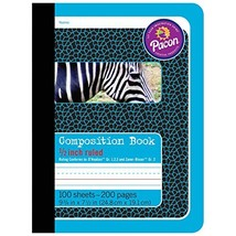 "Pacon PAC2425BN Primary Composition Book, 1/2"" Ruled, Blue/Zebra, 9-3/4""... - $44.95"