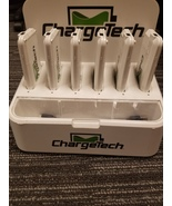ChargeTech Portable Battery Dock Charging Station 6 - $185.00