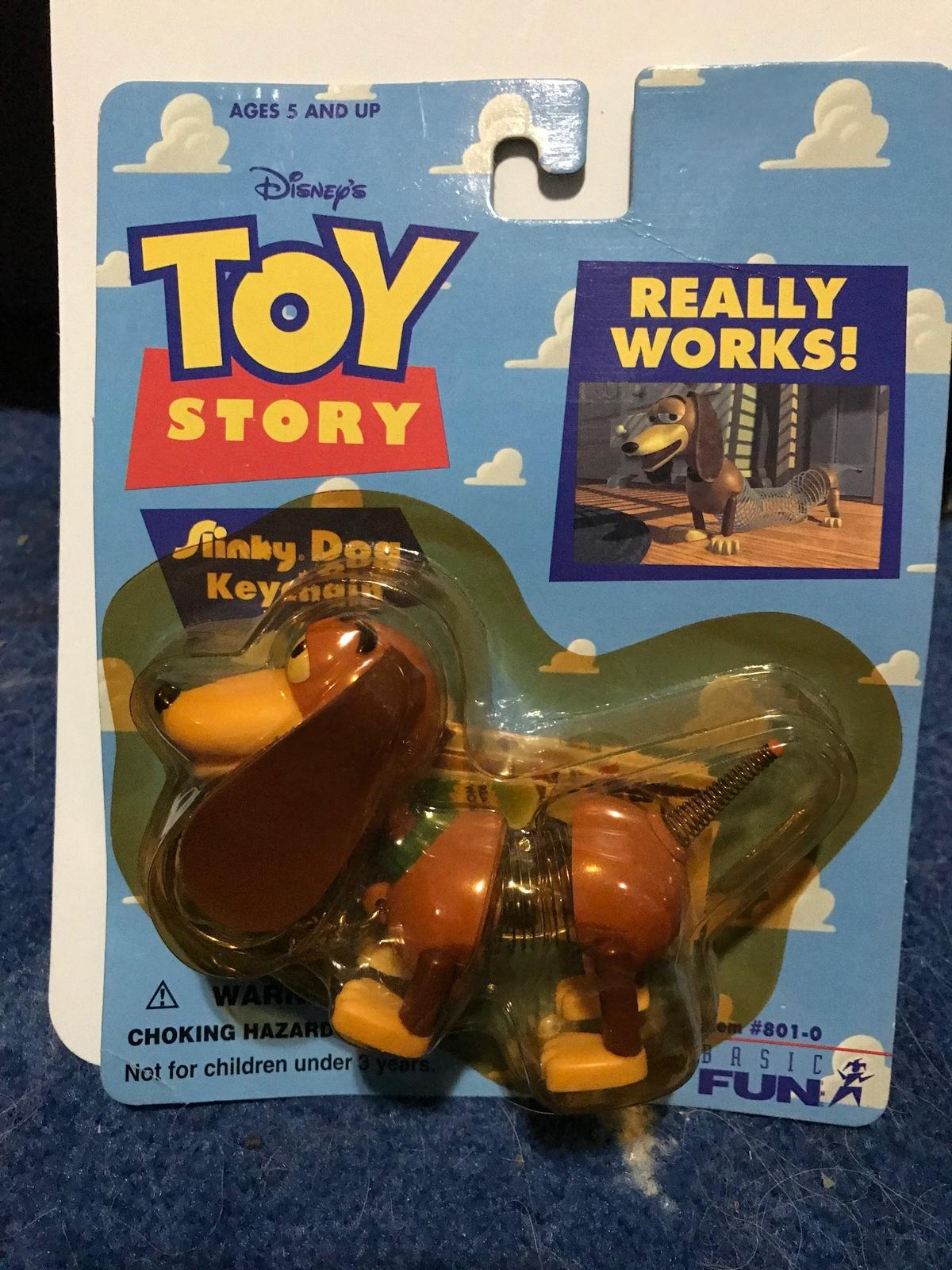 Disney\'s Toy Story Slinky Dog Keychain NIP and 50 similar items