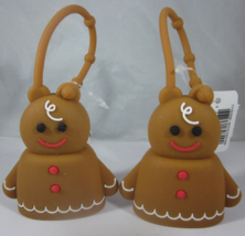 2 Bath & Body Works PocketBac Hand Sanitizer Holder Gingerbread Man - $29.99