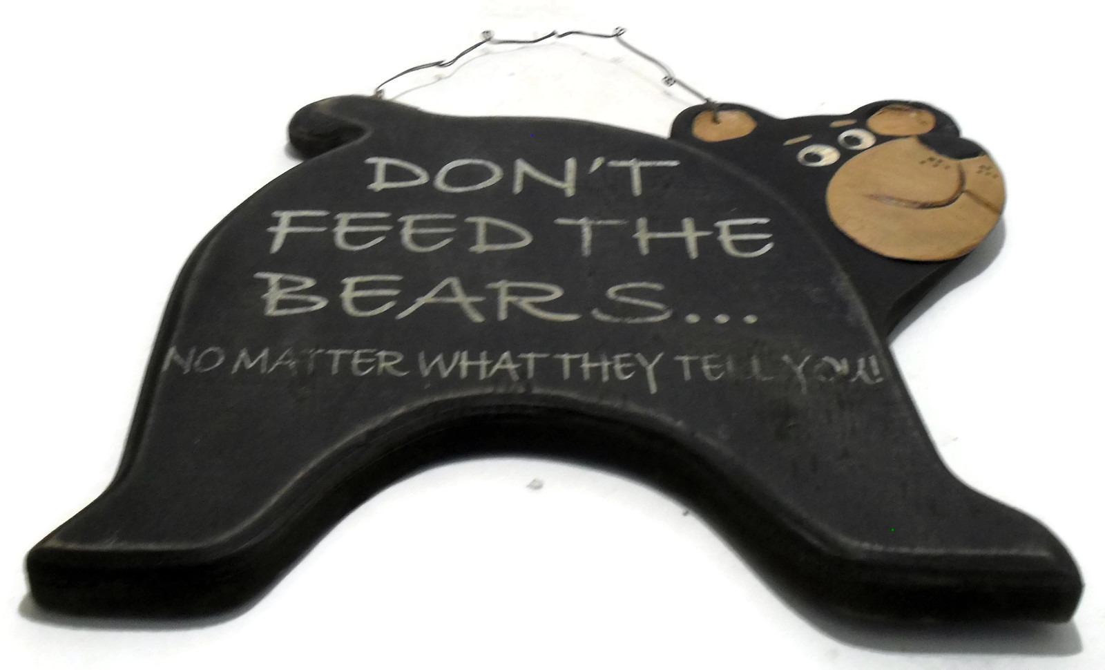 Vintage Black Bear Signage for Home or Cabin Decor