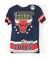 Chicago Bulls Basketball T-Shirt Men Size M Eastern Conference Blue Red ... - $19.79