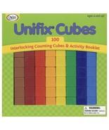 IN BOX 100 Teaching Unifix Cubes Counting Blocks Manipulatives Didax Mat... - $19.79