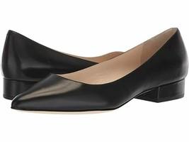 Cole Haan Womens Vesta Skimmer Black Leather Pumps Size 7.5 - $48.28