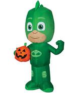 Airblown Gekko With Jack O' Lantern Gemmy Prop Halloween Decor Decoration - $40.95