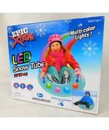 "Epic Xtreme LED Snow Tube 32"" Inflatable Diameter Multi Color Lights - $19.99"
