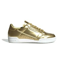 Adidas Continental 80 Women's Shoes Fashion Sneakers Metallic Gold Size 10 - $65.41