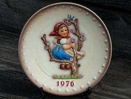Goebel Hummel 6th Annual Plate 1976 Apple Tree Girl #269 Tarrytown Archive - $26.99