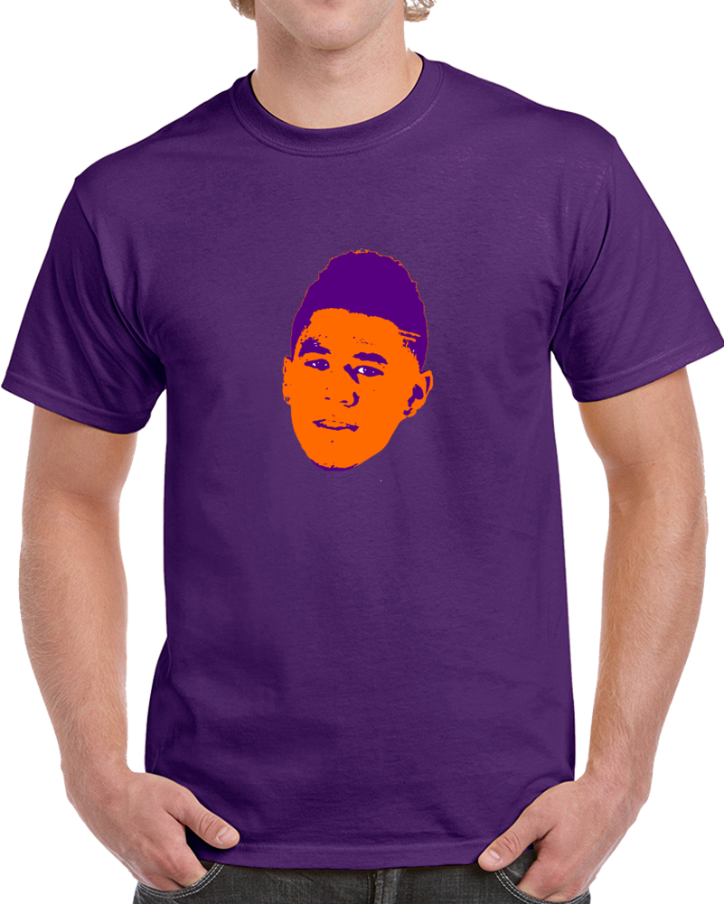 Primary image for Devin Booke Big Head Silhouette 3 Point Champion Phoenix Basketball T Shirt