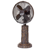 "DecoBreeze Fir Bark 24"" 3-speed Head tilts and Oscillate Table Top Fan -... - $139.99"