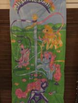Vintage My Little Pony Sleeping Bag 1988 Hasbro Maypole 53 x 26 - $24.74