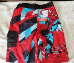 Spider-Man Swim Trunks for Boys, Size 7/8 and 10/12 - New with tag - $19.98