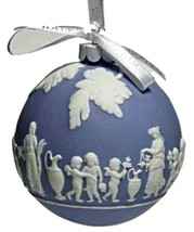 Wedgwood Collection Icon Blue Ornament NEW IN THE BOX (s) - $72.26