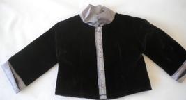American Girl Doll 1999 Velvet Shirt Jacket for Recital Outfit II - $14.00