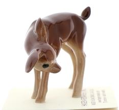 Hagen-Renaker Miniature Ceramic Deer Figurine Sister Doe and Fawn Sleeping Set image 4