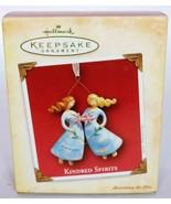 Hallmark Keepsake Christmas Ornament Kindred Spirits Friends Sisters 2004 - $17.51