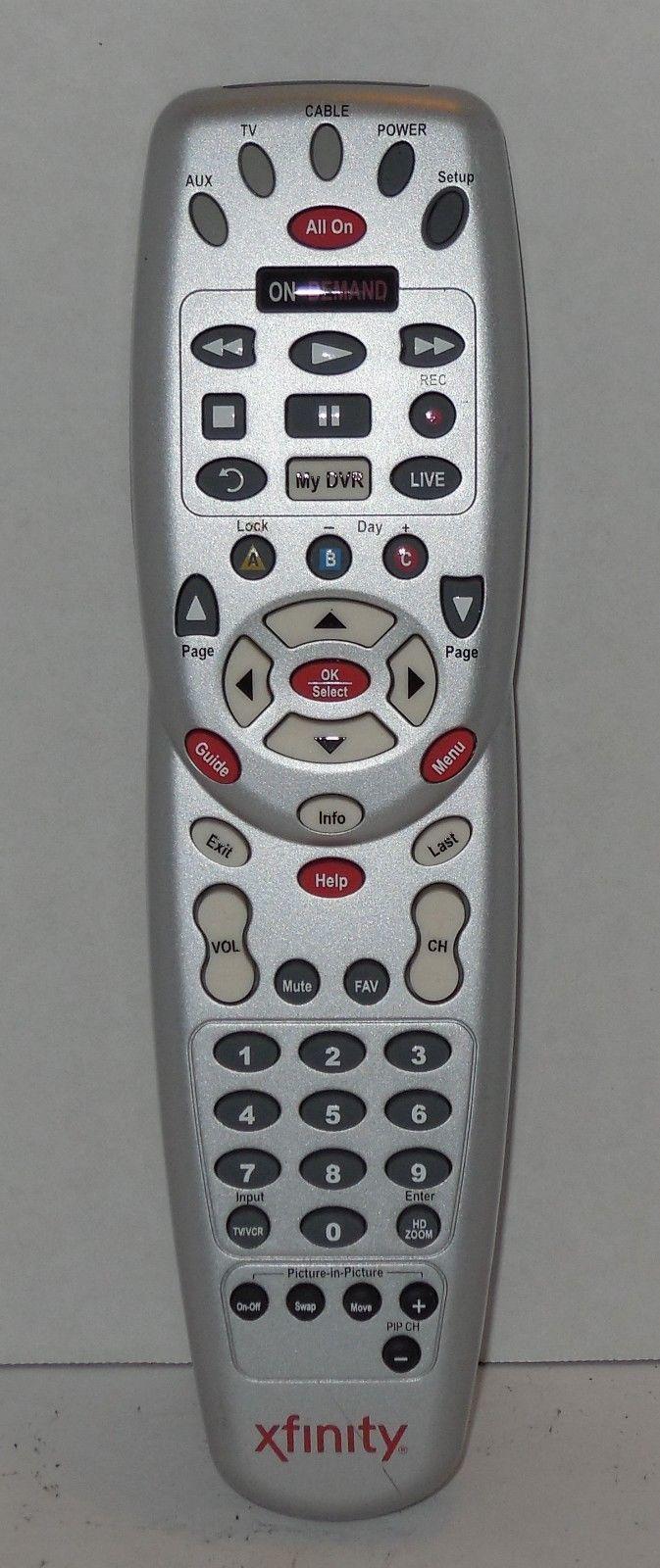 Xfinity Grey Silver Dvr Remote Control And 28 Similar Items