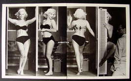 Marilyn Monroe Vintage Centerfold Bikini Pin-up Poster! Smokin' Hot Pinu... - $12.59