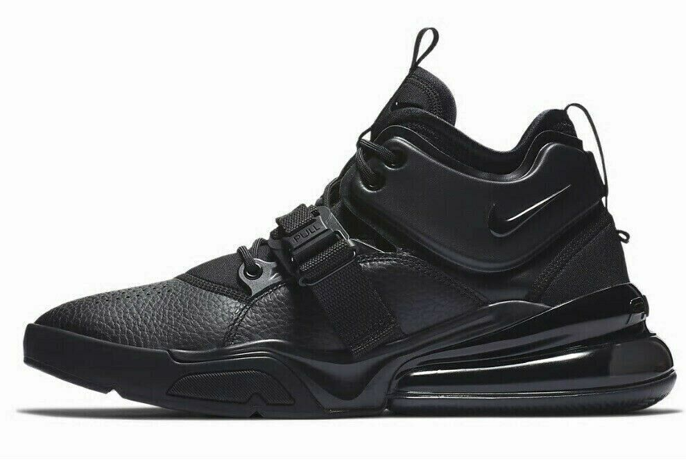 c47594c613 Nike Air Force 270 Triple Black Size 8.5 New and 50 similar items