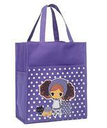 Student Tote Bag Go to School Fine Art Book Bag, [Purple] [Girl] - $13.03