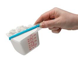 Dreamfarm Levups - Self-Leveling Measuring Cups, Set of 4 Blue On Blue - $19.20