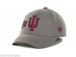 Indiana Hoosiers TOW NCAA Sketched Gray Stretch Fit Cap Hat OSFM - $18.04