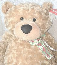 GANZ HX11091 Hayden Light Brown 26 Inch Polyester Fiber Cuddly Bear image 3