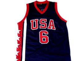 Tracy McGrady #6 Team USA Men Basketball Jersey Navy Blue Any Size image 4