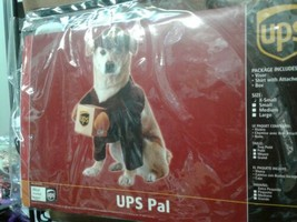 California Costumes UPS Pal Pet Dog Costume Mail Delivery Guy Halloween XS - £13.64 GBP