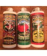 Fox Farm Liquid Nutrient Trio Soil Formula Big Bloom Grow Big Tiger Bloo... - $49.99