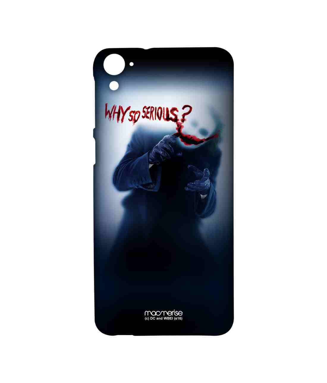 Why So Serious - Sublime Case for HTC Desire 826