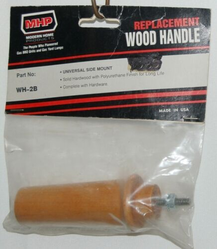 MHP WH2B Universal Side Mount Replacement Wood Grill Handle
