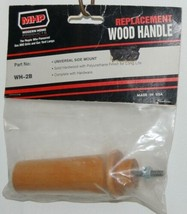 MHP WH2B Universal Side Mount Replacement Wood Grill Handle image 1