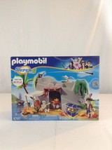 New Playmobil 4797 Super 4 Pirate Cave 93 Piece Building Toy Playset - $37.39