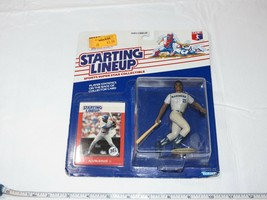 1988 Initial Gamme Alvin Davis Mariners Action Figurine Kenner MLB Carte... - $10.68