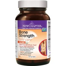 New Chapter Calcium Supplement with Vitamin K2 + D3 - Bone Strength Clin... - $31.99