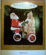 QLX7473 Santa's Sing Along 1994 Hallmark Magic Keepsake Ornament - $10.78