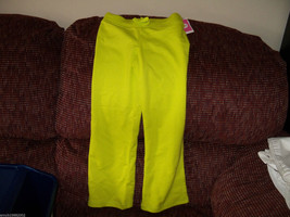 Circo French Terry Lime Green Pants Size 4/5 Girl's NEW LAST ONE HTF - $28.49