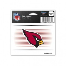 Arizona Cardinals Decal 3x3 Static Cling Style**Free Shipping** - $11.82