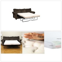 Sofa Memory Foam Mattress Replacement Bed Couch Sleeper Cot Chair Futon ... - $185.99