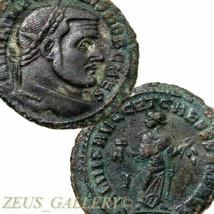 Galerius Maximian Rare CARTHAGE mint. large Ancient Roman Imperial Folli... - $341.10