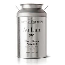 Scottish Fine Soaps Au Lait Milk Bath Powder 500g 17.6oz - $30.00