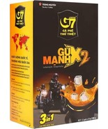Trung Nguyen - G7 3 В 1 STRONG X2 Coffee - 12 Packets | Suitable for Mos... - $14.85