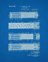 Flare Signal Patent Print - Blueprint - $7.95+