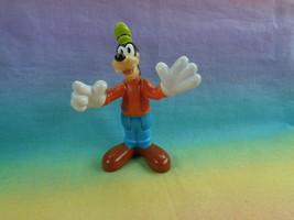 2013 Mattel Disney Goofy PVC Figure Bends at Waist - $3.91
