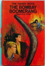 Hardy Boys no.49 The Bombay Boomerang 1st Edition 1st Print hc Franklin ... - $14.00