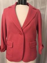 Talbots Women's Blazer One Button Fully Lined Blazer Size 10 NWT - $48.51