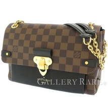 LOUIS VUITTON Vavin PM Damier Ebene Canvas Noir Shoulder Bag N40108 Auth... - $1,692.00